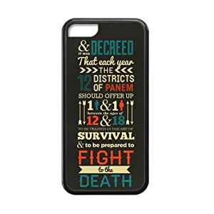 2014 Retro Vintage CLASSIC The Hunger Games QUOTES iphone 5c iphone 5c Case Best Durable Silicone Phone Case for iphone 5c iphone 5c