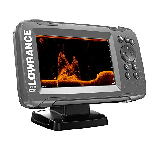 Lowrance 000-14016-001 HOOK2-5x GPS, Sonar (No Maps), DownScan