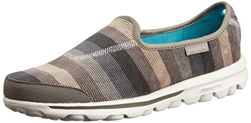 Skechers - Zuecos para mujer Marrón marrón 16 marr¢n claro (taupe)