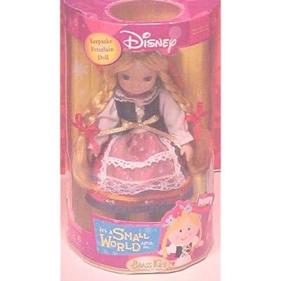 Disney Brass Key It's a Small World Porcelain Doll Poland: Toys & Games