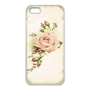 Rose ZLB591840 Personalized Phone Case for Iphone 5,5S, Iphone 5,5S Case