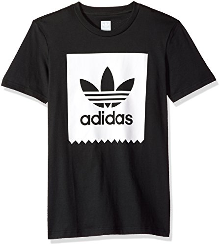 Used, adidas Originals Men's Solid Bb Tee, Black/White, Medium for sale  Delivered anywhere in USA