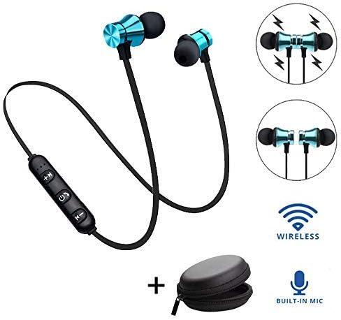 WILLTOO 4.2 Bluetooth Stereo Earphone, Wireless Magnetic in-Ear Earbuds Headphone