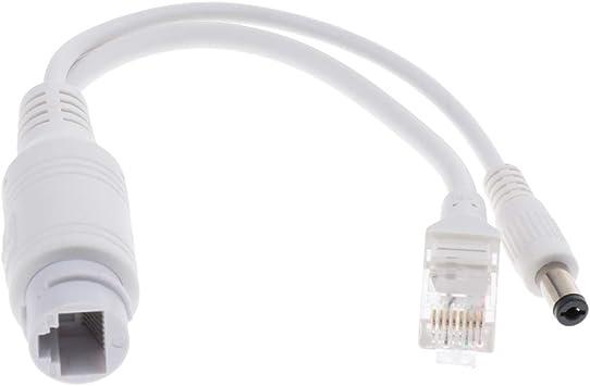 PoE Splitter Adapter Power Over Ethernet 24V to 12V for IEEE802.3af