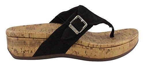 Vionic Women's, Marbella Thong Sandal Black 7 M