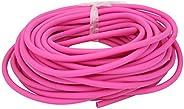 Latex Slingshot Antifreeze Tube Round Elastic Outdoor Catapult Pipe 1745 Pink 10m,Natural Latex Rubber Tubing,