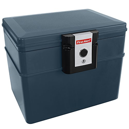 First Alert 2037F Water and Fire Protector File Chest, 0.62 Cubic Feet ()