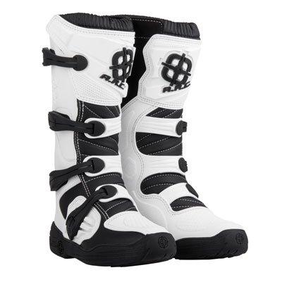 A.R.C. Corona Motocross Boot - White - Size 12 Men's - Includes Socks