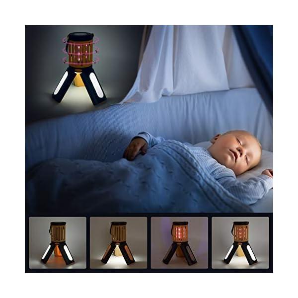 seenlast Lampada Antizanzara Elettrica, 2-in-1 Zanzariera All'aperto Luce UV Campeggio Repellente Trappola Zanzare… 3 spesavip