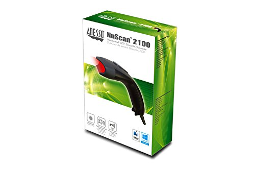 Adesso NuScan 2100U - CCD 1D Barcode Scanner by Adesso (Image #4)