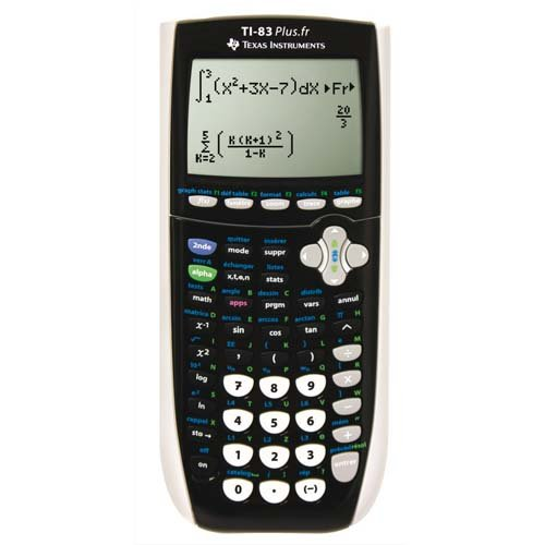 TEXAS INSTRUMENTS Calculatrice graphique TI-83 Plus.fr