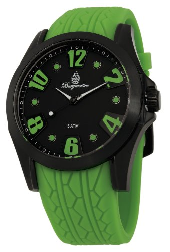 Burgmeister Men's BM606-620C Black Spirit Analog Watch
