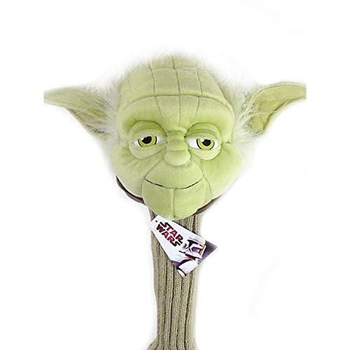 Star Wars Golf Head Cover Yoda Master 460cc Driver Wood Sporting Goods Headcover