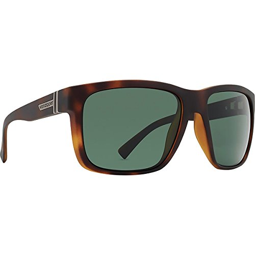 (Von Zipper Maxis Sunglasses-Tortoise Satin-Vintage Grey)