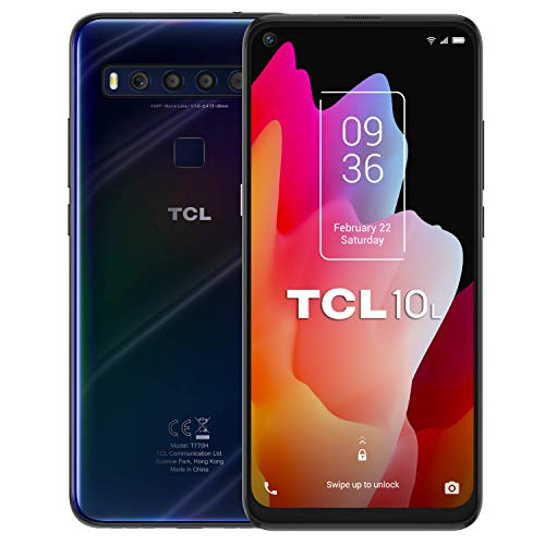 SMARTPHONE TCL 10L 6-53″ 6GB-64GB DUAL SIM AZUL 48MP 4G LTE