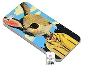 Case for Apple iphone 6 4.7 Rabbit Animal Big Head Drawing Painting Glossy