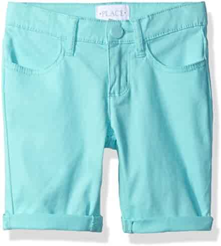 The Children's Place Girls' Solid Skimmer Pants