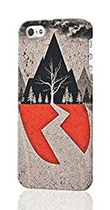 Sleeping With Sirens Tumblr - Viewing Gallery Pattern Image - Protective 3d Rough Case Cover - Hard Plastic 3D Case - For iPhone 5 5S