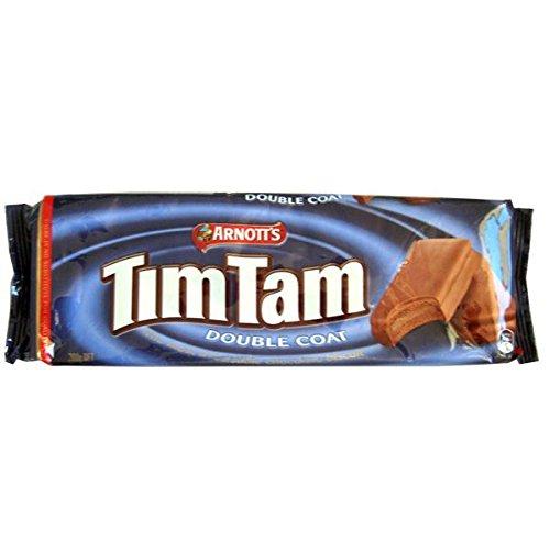 Arnotts Tim Tam Double Coat Australian Chocolate 200g (Pack of 4)