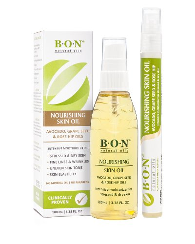 Natural Toning Stretch Marks Oil Combo Pack Is Ideal Gift for Pregnant New Moms
