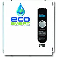 2 X Ecosmart ECO 27 Electric Tankless Water Heater, 27 KW at 240 Volts with Patented Self Modulating Technology