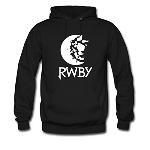 GOOGSDDIY Mens Cartoon Four Cool Anime Girl Story Pullover Hoodie Small Black