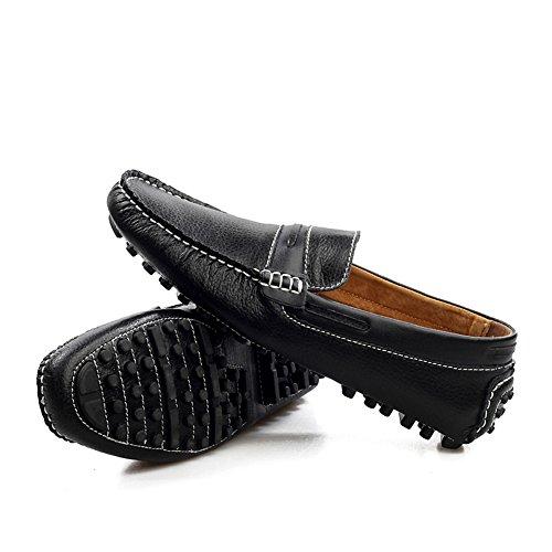 Icegrey Herren Gehen Lässige Schuhe Halbschuhe Schwarz 42