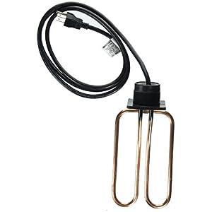 Farm Innovators Model DPH-15 Drain Plug De-Icer For Rubbermaid Stock Tanks, 1,500-Watt