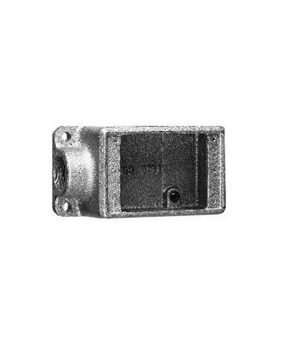 Crouse-Hinds FS2 Condulet Single Gang Cast Device Box, 3/4-Inch