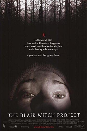 "Blair Witch Project - Authentic Original 27"" x 40"" Movie Pos"