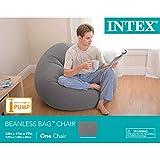 "Intex Beanless Bag Inflatable Chair, 42"" X 41"" X"