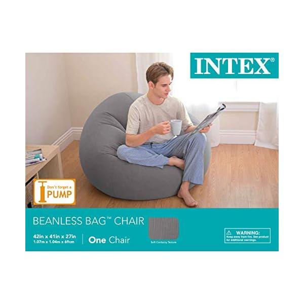 Superb Intex Beanless Bag Inflatable Chair 42 X 41 X 27 Dailytribune Chair Design For Home Dailytribuneorg