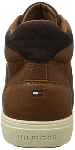 Marrone A 3a2 M2285oon cognac Pantofole Tommy Uomo Hilfiger Stivaletto