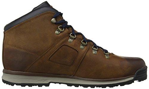 Timberland Gt De Leather Scramble Mid Montantes Chaussures Homme Marron Waterproof Randonnée Ek T05rwgqT