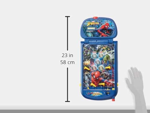Amazon.es: IMC Toys Mesa de Pinball con luces y sonidos, Spiderman, 1m+ (43-550117) azul