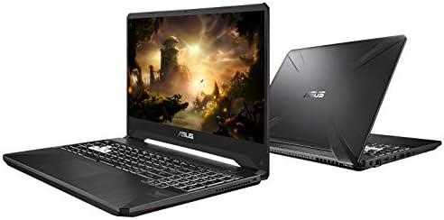 "ASUS TUF 15.6"" FHD 144Hz 5ms Gaming Laptop Computer, Intel Hexa-Core i7-9750H up to 4.5GHz, 8GB DDR4 RAM, 1TB PCIe SSD, NVIDIA GeForce GTX 1650, RGB Backlit KB, Windows 10, BROAGE 64GB Flash Drive"