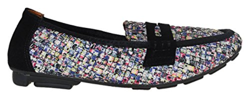 Bernie Mev Womens Penny Mocassins Splash