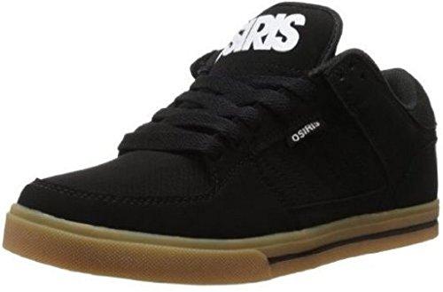 Hommes Osiris Gum Blanc Skate Baskets Protocol Noir Chaussures wwqZIFOx