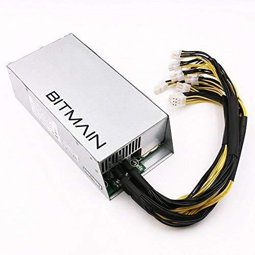 AntMiner Bitmain New Power Supply APW7 PSU 1800w 110v 220v Much Better Than APW3++ for S9 or L3+ or Z9 Mini or D3 w/ 10 Connectors