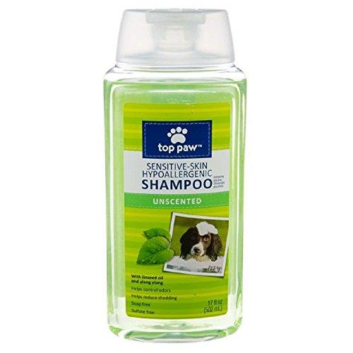 Top Paw Sensitive-Skin Unscented Hypoallergenic Dog Shampoo - 17 Fl Oz - 1 Pack