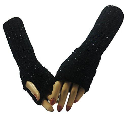 Black Paradox Arm Warmer Gloves