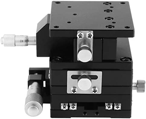 SEMXYZ-60 60 60mm XYZ Micrometer Trimming Platform Bearing Tuning Sliding Table 3 Directions Linear Guide Sliding Track Linear Rail W-SHTAO Linear Motion Guides Linear Stage