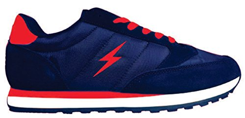 SHOES RELAX MORFEO 44 BLU ROSSO