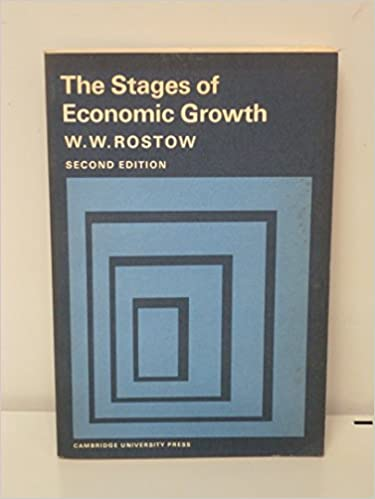 walt rostow stages of economic growth