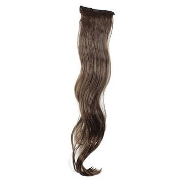 Dressing eDealMax señoras de Largo Cabeza Enrollamiento de la onda de bricolaje Cola de Caballo peluca