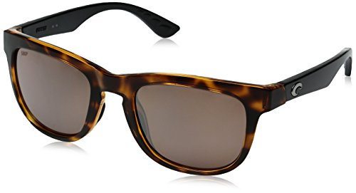 Costa del Mar Copra Polarized Cateye Sunglasses, Retro Tortoise w/Black, 51.9 - Sunglasses Stream