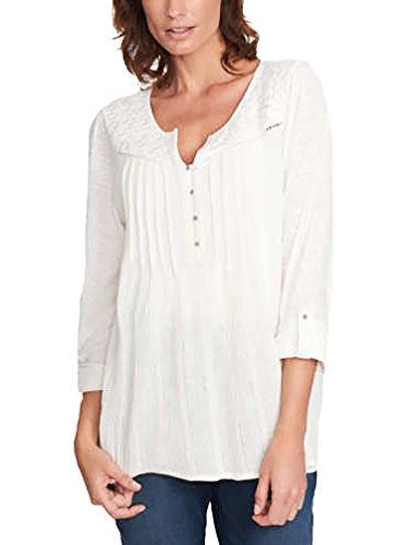 Pleated Long Sleeve Linen Shirt - 5