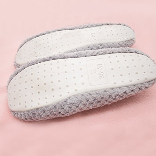 Soft Indoor Women's Dream cat Grey Non slip T Shoes Slippers House Cute pq7wSaY