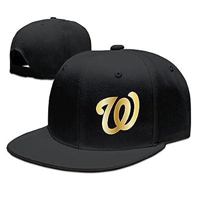 LuN Washington Nationals Gold Legend Logo Baseball Cap Flat Bill Hat Unisex