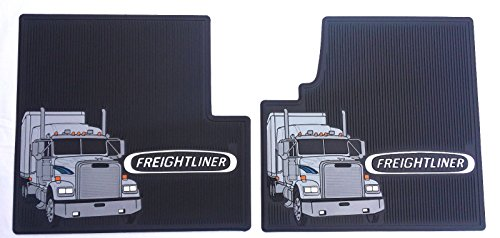 Freightliner-Classic-Classic-XL-Black-All-Weather-Rubber-Floor-Mats-OEM-with-Truck-Logo-Fits-All-Years